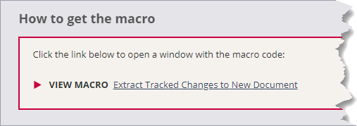 About VBA Macros and Code Snippets – Word Macros and Tips