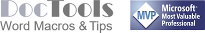 Word Macros and Tips