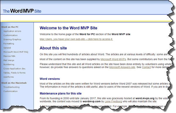 The Word MVP Site, wordmvp.com